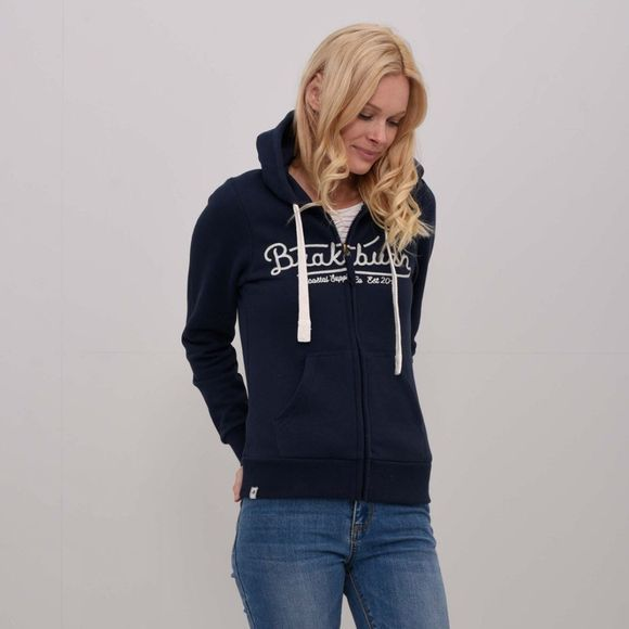Womens Embroidered Zip Hoody