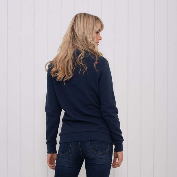 Brakeburn Womens Cowl Neck Sweater Navy