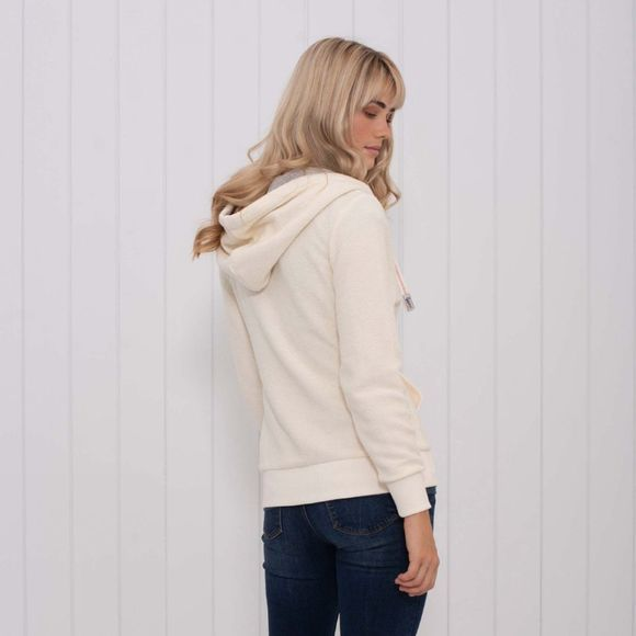 Womens Zip Through Hoody