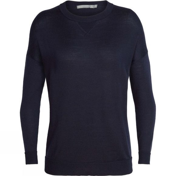 Icebreaker Womens Nova Sweater Sweatshirt Midnight Navy