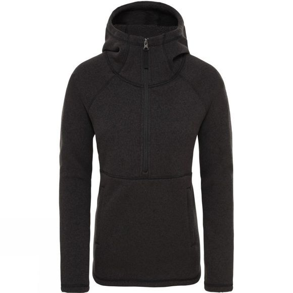 The North Face Womens Crescent Hoodie Tnf Black Heather