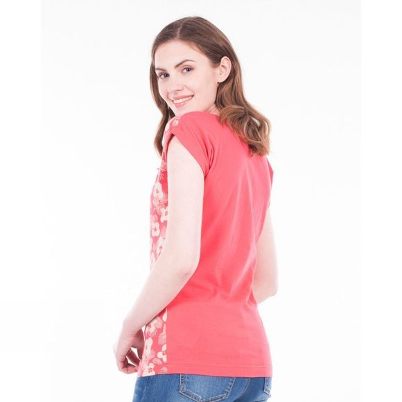 Brakeburn Womens Spring Daisy Tee Coral