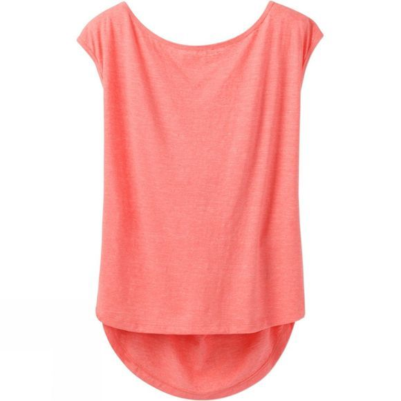 PrAna Womens Constance Top Summer Peach