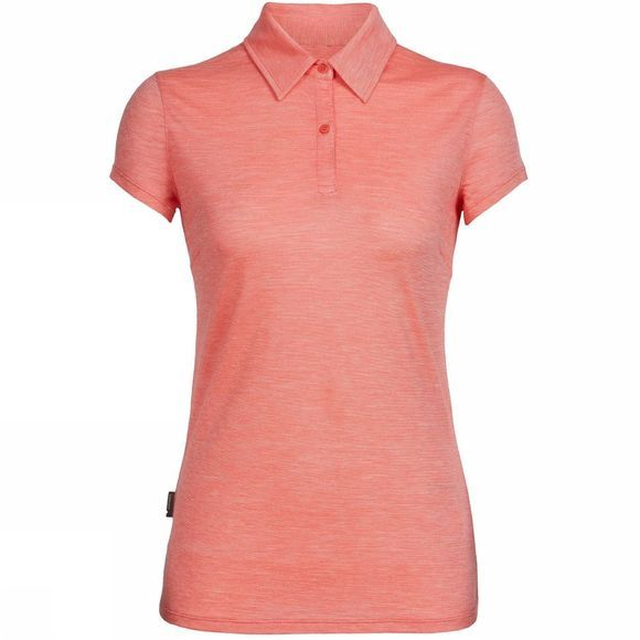 Womens Sphere Short Sleeve Polo