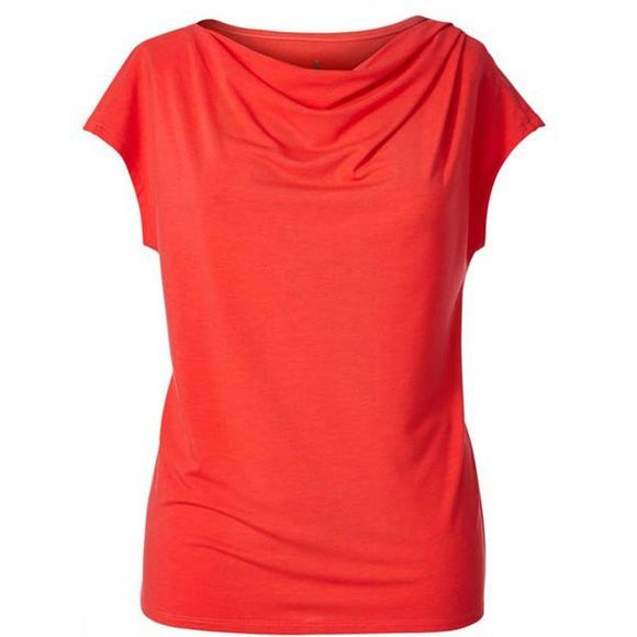 Womens Essential Tencel Cowl Neck Top