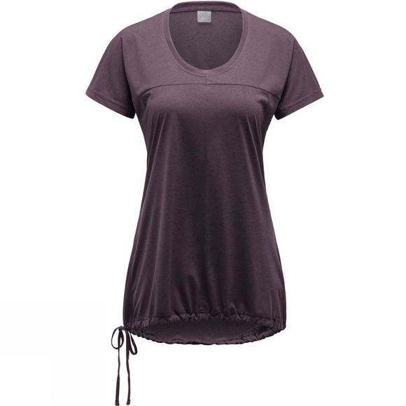 Haglofs Womens Ridge T-Shirt Acai Berry