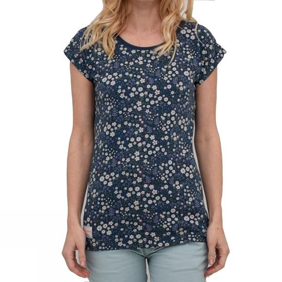 Womens Ditsy Flower Boyfriend Tee