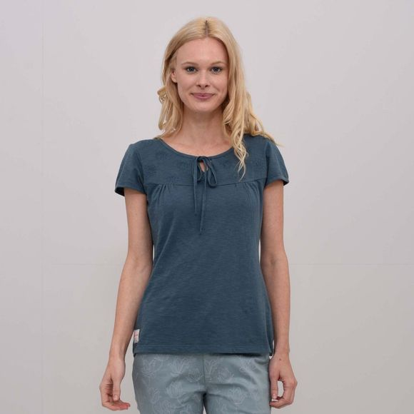 Womens Lace Up T-Shirt