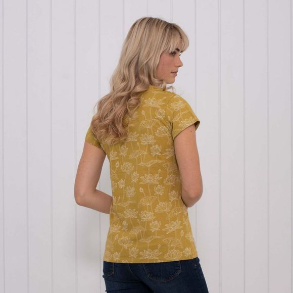 Womens Lotus Lace Top