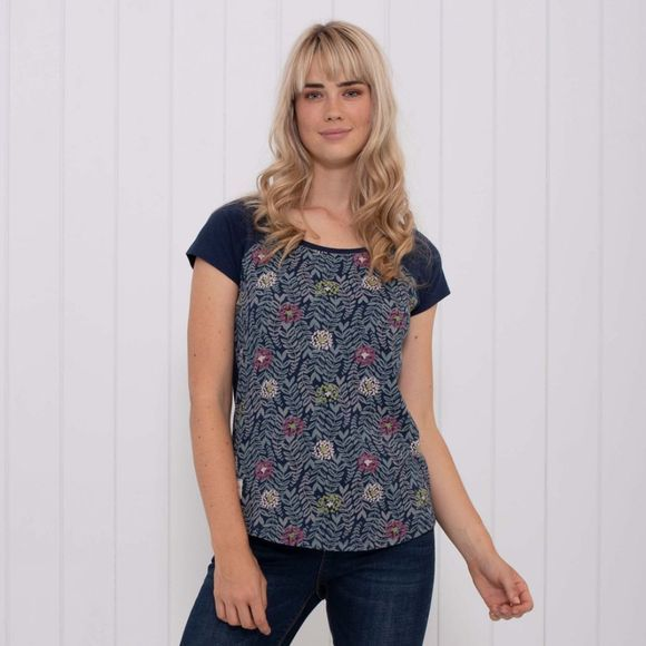 Womens Trailing Leaf Raglan Tee