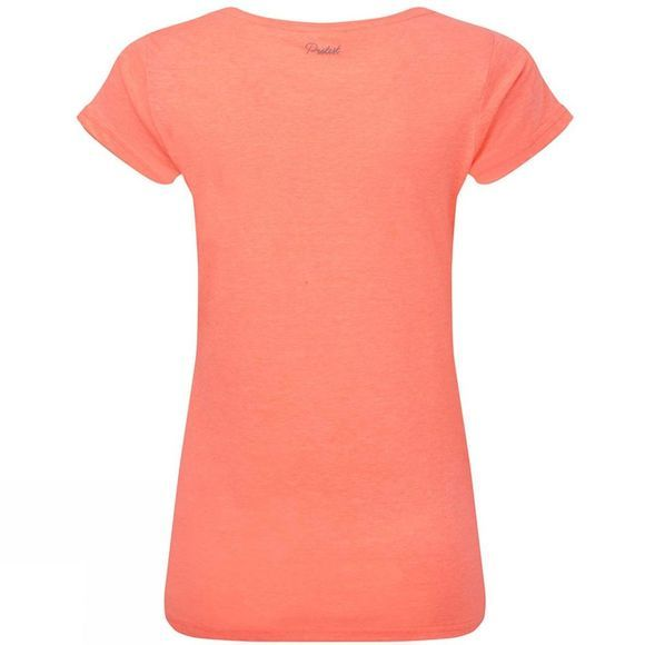 Protest Womens Styler T-Shirt Coral Blaze