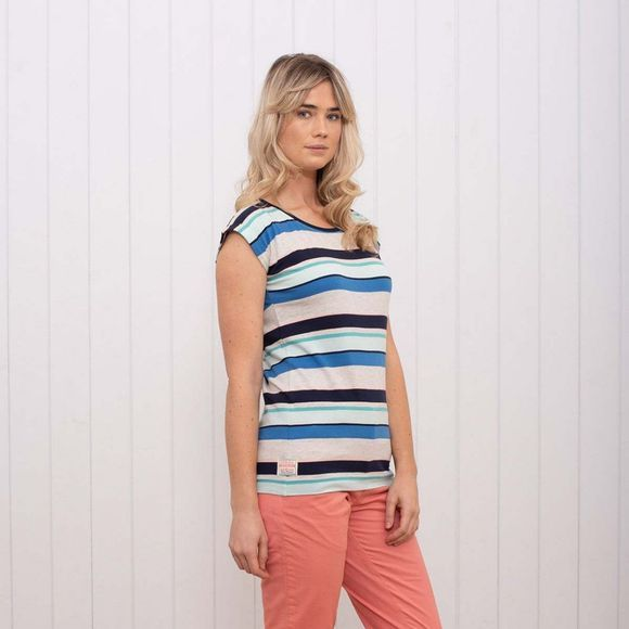 Brakeburn Women's Summer Stripe T-Shirt Multi