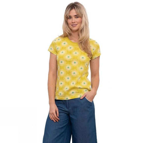 Brakeburn Women's Allium T-Shirt Yellow