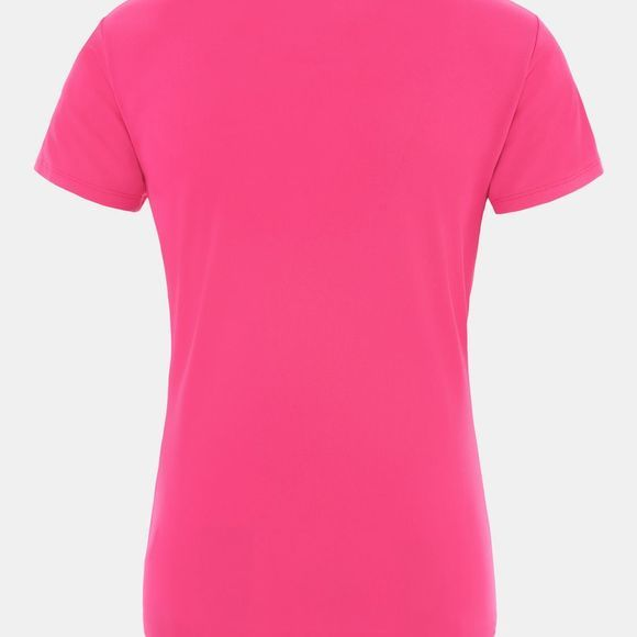 The North Face Women's Reaxion Amp Crew Shirt Mr.Pink