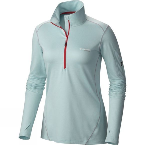 Womens Diamond Peak Half Zip Shirt