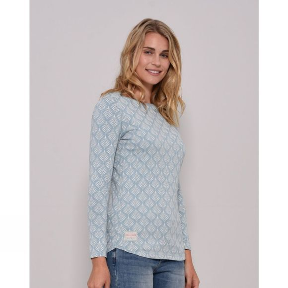 Womens Feather Long Sleeve Tee