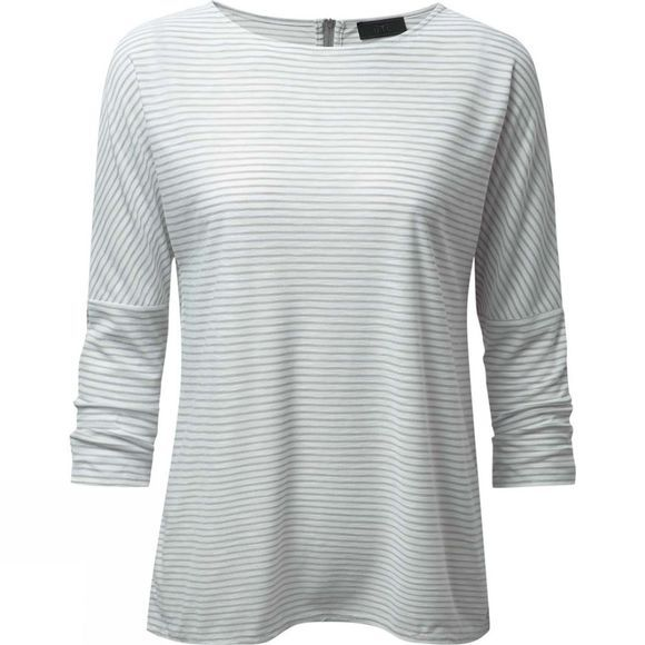 Craghoppers Womens NosiLife Appleton Long Sleeve Top Soft Grey Combo