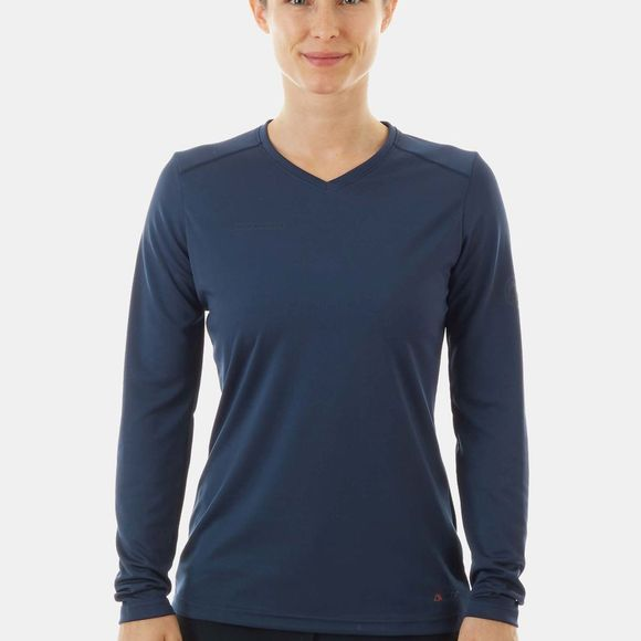 Mammut Womens Sertig Long Sleeve T-Shirt Peacoat