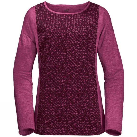 Womens Moro Panel Longsleeve Top