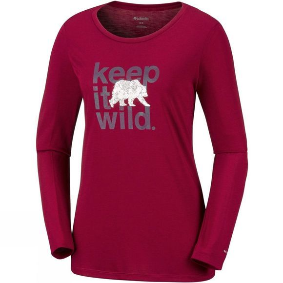 Womens Outdoor Elements Long Sleeve Tee
