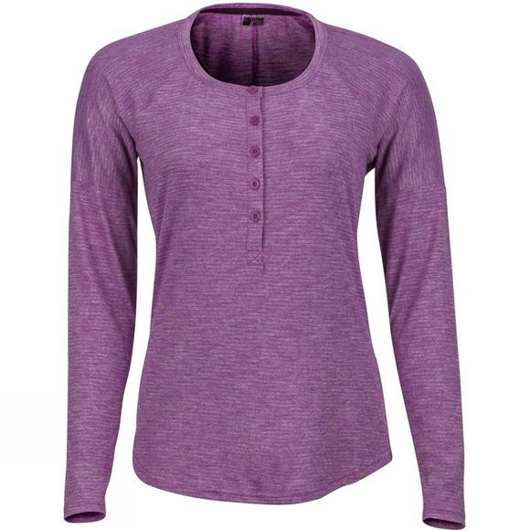 Marmot Womens Jayne Long Sleeve T-Shirt Grape