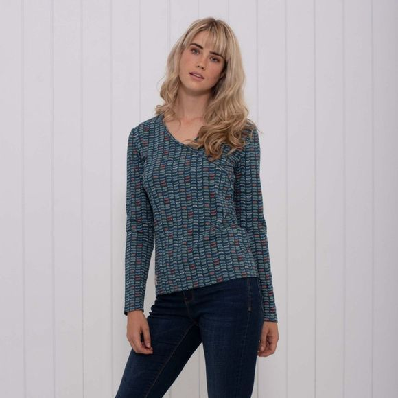 Womens Rowing Boat Wrap Top