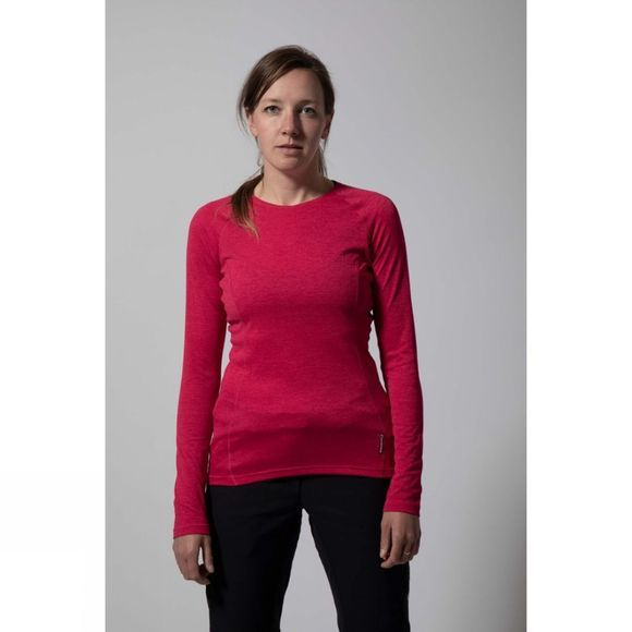 Montane Womens Dart Long Sleeve T-Shirt French Berry