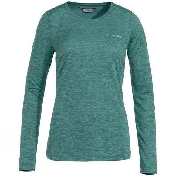 Vaude Women's Essential LS T-Shirt Nickel Green