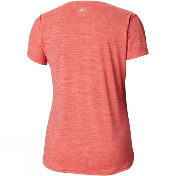 Columbia Womnens Trinity Trail 2.0 Short Sleeve Red Coral, Cherry bomb