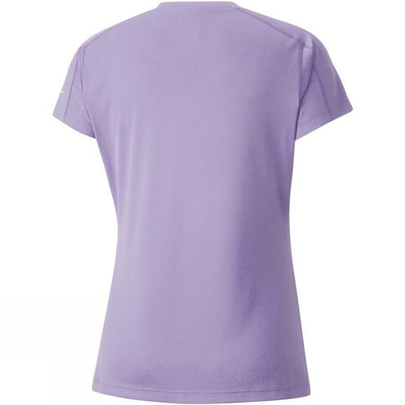 Columbia Womens Zero Rules Short Sleeve Shirt Soft Violet Heather