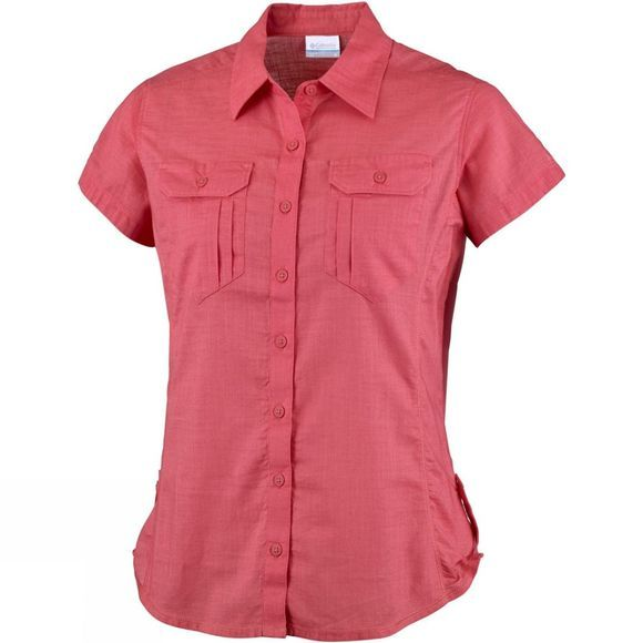 Women's Camp Henry Solid Short Sleeve Shirt