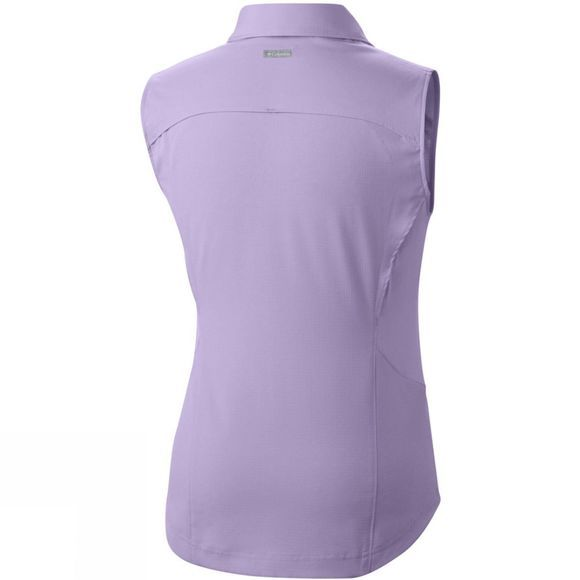 Columbia Women's Silver Ridge II Sleeveless Shirt Soft Violet