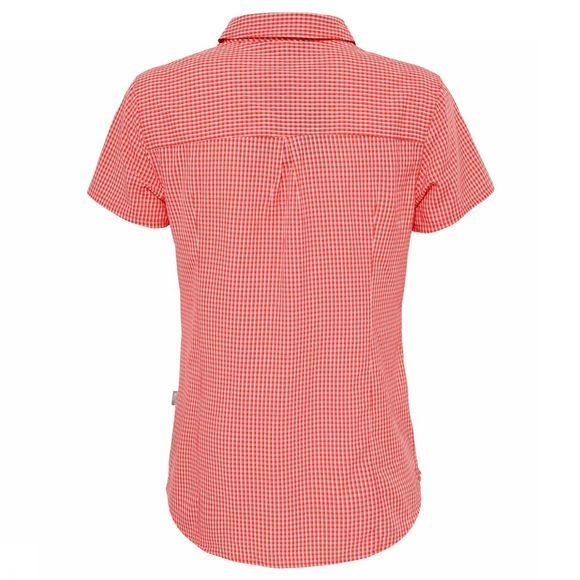 The North Face Women's Short Sleeve Bryce Shirt Cayenne Red