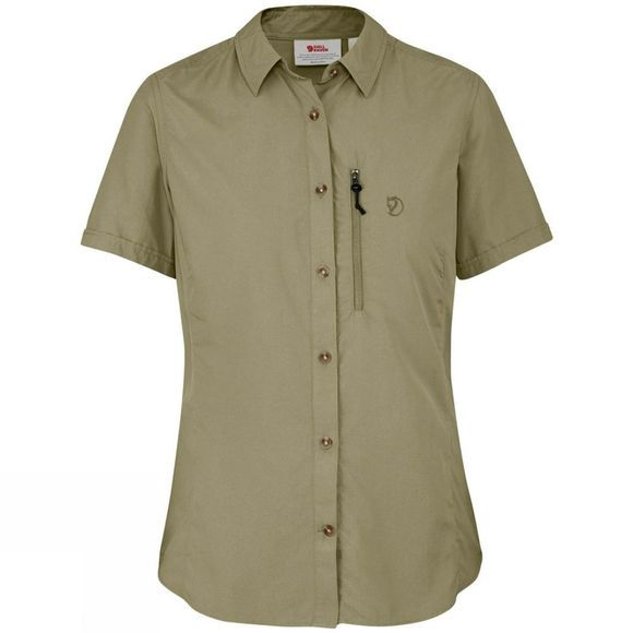 Fjallraven Womens Abisko Hike Shirt Savanna