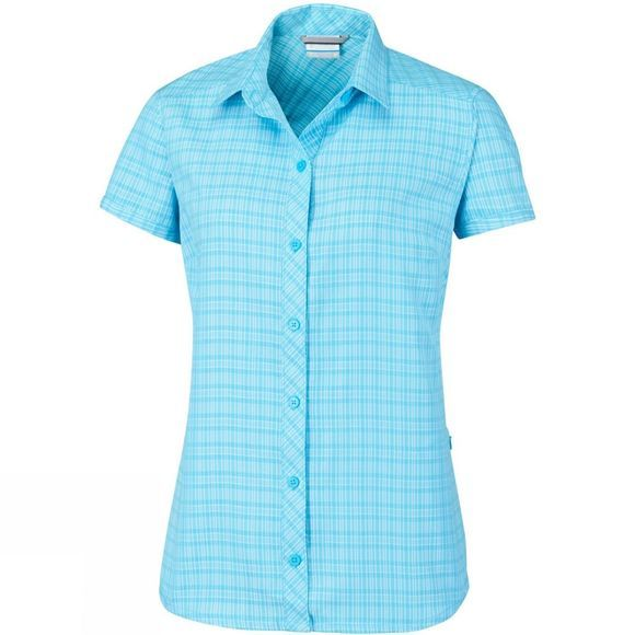 Columbia Womens Surviv-Elle III Shirt Atoll Plaid
