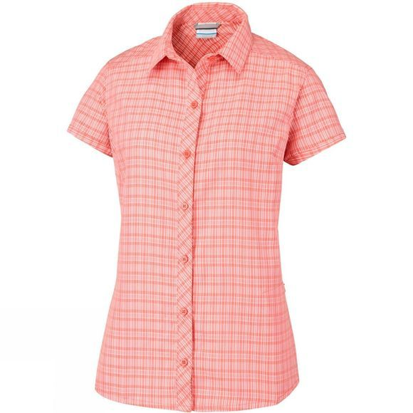 Columbia Womens Surviv-Elle III Shirt Plus Zing Plaid