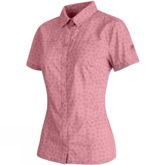 Mammut Womens Trovat Advanced Shirt Rose