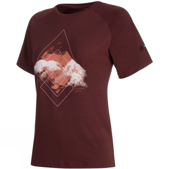 Mammut Womens Mountain T-Shirt Merlot