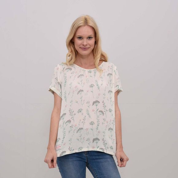 Womens Meadows Woven T-Shirt