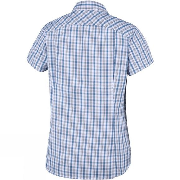 Columbia Womens Silver Ridge 2.0 Plaid Short Sleeve White Gingham