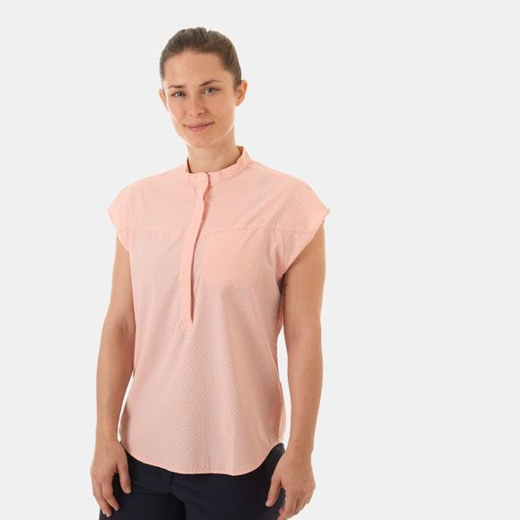 Mammut Womens Calanca Shirt Candy/Bright White
