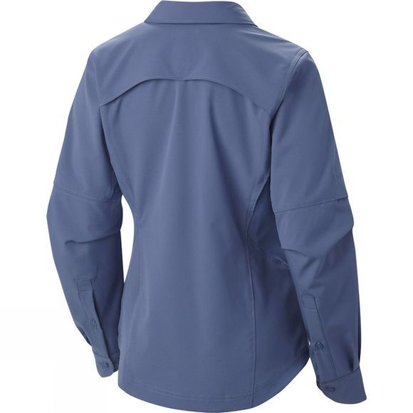 Columbia Women's Silver Ridge Long Sleeve Shirt Plus Bluebell