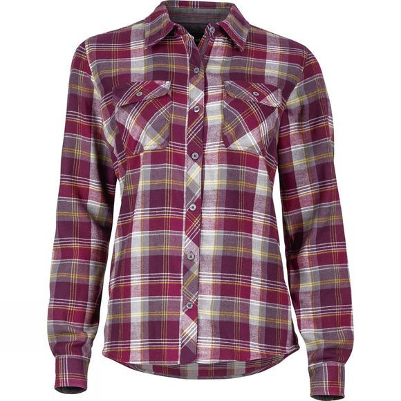 Womens Bridget Flannel Long Sleeve