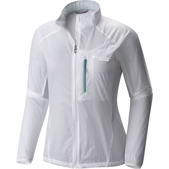 Columbia Womens Titan Lite Windbreaker Jacket White
