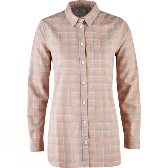 Fjallraven High Coast Flannel Shirt LS W Lily-Fog