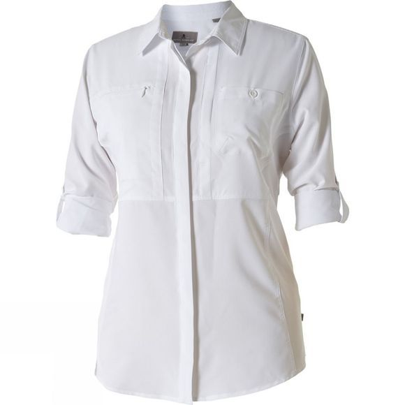 Royal Robbins Bug Barrier Expedition Long Sleeve Shirt White
