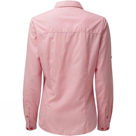 Craghoppers Womens Nosi Valetta Shirt English Rose Print
