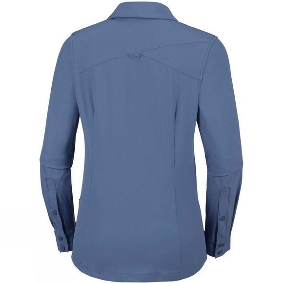 Columbia Womens Saturday Trail Stretch Long Sleeve Shirt Nocturnal