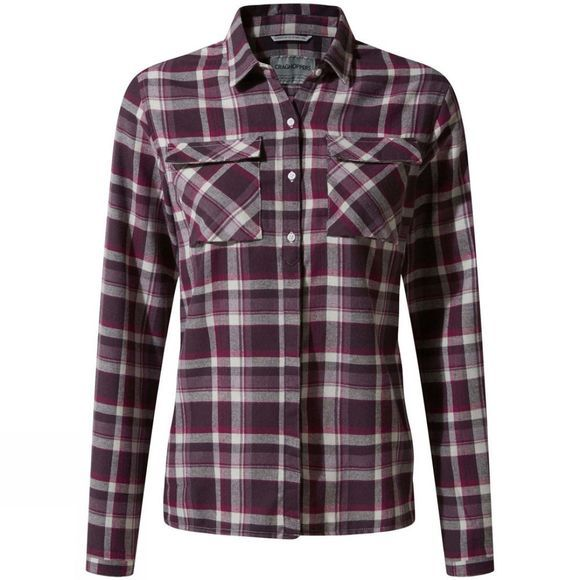Craghoppers Womens Islay Shirt Thistle Check