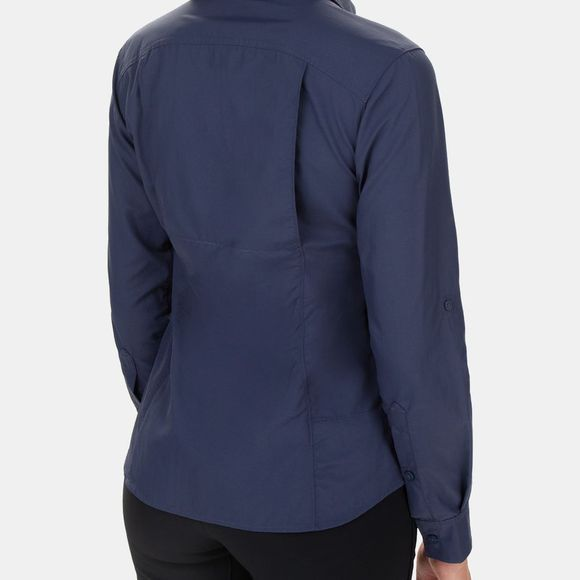 Columbia Womens Silver Ridge 2.0 Long Sleeve Nocturnal